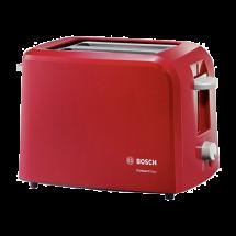 BOSCH Toster TAT3A014  Crvena, 6, 2, 980 W