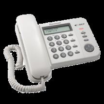 PANASONIC KX-TS560FXW  Žični telefon, Bela