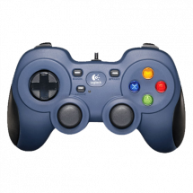 LOGITECH gamepad F310 (Plavo/Crni) - 940-000135  Četvorosmerni kursor, USB, Windows