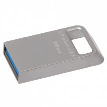 KINGSTON 16GB USB 3.1, DataTraveler Micro 3.1 (Silver) - DTMC3/16GB  USB 3.1, 16GB, do 100 MB/s, do 10 MB/s