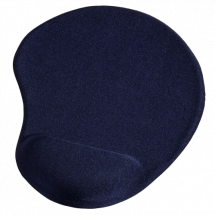 HAMA Ergonomic mouse pad (Blue) - 54778  Standardna, Tkanina