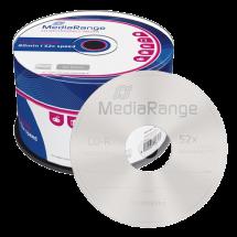 MEDIA RANGE CD-R 700MB 52x, Cake50 - MR207  CD-R, 650 – 700 MB