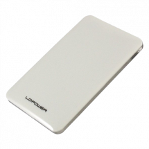 "LC-Power HDD Rack 2.5"", USB 3.0, SATA (White) - LC-25U3-7W  2.5"", SATA I / II / III, USB 3.0, 7mm"