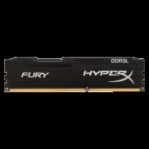 Memorija KINGSTON 8GB DDR3L HyperX FURY Black 1866MHz CL11 - HX318LC11FB/8   8GB, DDR3L, 1866Mhz, CL11