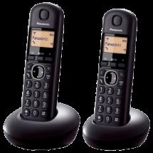 PANASONIC DECT KX-TGB212FXB Duo  Bežični telefon, Crna