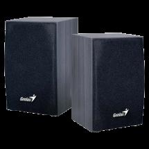 GENIUS SP-HF160 2.0 drveni zvučnici (Crni) - 31731063100   2.0, 4W, 160Hz-18KHz, 4 Ohm