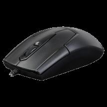 A4 TECH optički miš N-301 V-Track (Crni)  Optički, 1000dpi, Simetričan (pogodan za obe ruke), Crna
