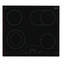 VOX Ugradna ploča EBC 411DB  Crna, Staklokeramička, Senzorsko upravljanje (Na dodir)