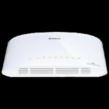 D-LINK Switch DGS-1008D  Neupravljivi, 8 RJ-45 portova, 4K, 16Gbps