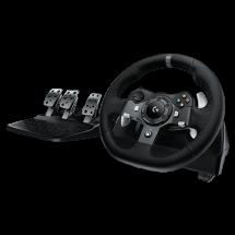 LOGITECH gejmerski volan DRIVING FORCE G920 (Crni) - 941-000123  Sekvencijalni menjač, Gas, kočnica i kvačilo, Windows, Xbox