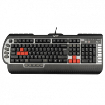 A4 TECH gejmerska tastatura X7-G800V  Membranski tasteri, EN (US), 8