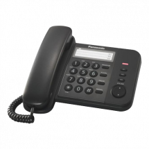 PANASONIC KX-TS520FXB  Žični telefon, Crna