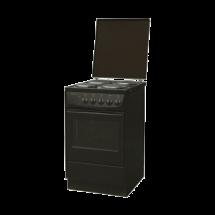 ALFA PLAM Električni šporet S-140.50.33 G/6  Braon, Ringle, 60 l