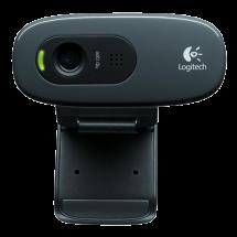 LOGITECH Webcam C270 HD (Crna) - 960-001063  0.9 Mpix, 3.0 Mpix softverski, 1280 x 720, USB 2.0