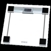 VIVAX Telesna vaga PS-154  Transparentna, Digitalna