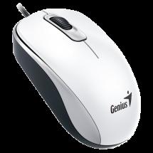 GENIUS žični miš DX-110 (Beli) - 31010116102  Optički, 1000dpi, Simetričan (pogodan za obe ruke), Bela