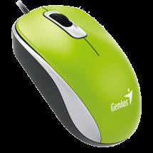 GENIUS žični miš DX-110 (Zeleni) - 31010116105  Optički, 1000dpi, Simetričan (pogodan za obe ruke), Zelena