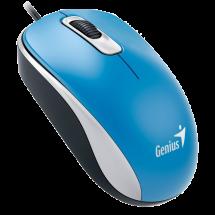 GENIUS žični miš DX-110 (Plavi) - 31010116103  Optički, 1000dpi, Simetričan (pogodan za obe ruke), Plava