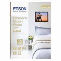 EPSON papir Premium Glossy Photo - C13S042155  10 x 15 cm, 15 listova, 255 g/m2