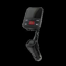 XWAVE BT68 (Crna) -  MP3, WMA, microSD, 3.5 mm Line-In, 2xUSB