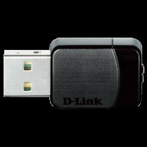 D-LINK Wireless AC Dual-Band Nano USB Adapter - DWA-171  USB, 802.11 a/ac, USB 2.0, do 433Mbps