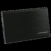 "LC-Power HDD Rack 2.5"", USB 3.0, SATA (Crni) - LC-25U3-7B-ALU  2.5"", SATA I / II / III, USB 3.0, 7mm"