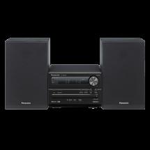 PANASONIC SC-PM250EG-K  Mikro linija, 20W, FM, Crna