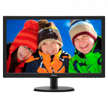 "Monitor PHILIPS LED 23.6"" V Line Full HD - 243V5LHSB/00  23.6"", TN, 1920 x 1080 Full HD, 1ms"