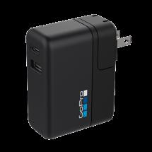 GOPRO Supercharger (International Dual-Port Charger) - AWALC-002-EU,  Baterija i punjači, Putovanje i porodica, Crna