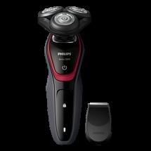PHILIPS Aparat za brijanje S5130/06   Crna/Crvena, Baterije i kabl