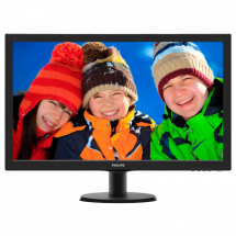 "PHILIPS LED 23,6"" V-line 243V5LHAB/00 Full HD  23.6"", TN, 1920 x 1080 Full HD, 1ms"