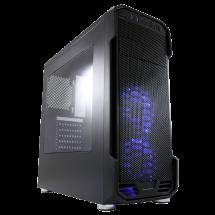 LC-POWER kućište Gaming 984B - Dragonslayer  Midi Tower, Micro-ATX, Mini-ITX, ATX, Bez napajanja, Crna