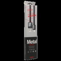 REMAX USB Tip-C kabl, Platinum RC-044a, 1m (Crni),  USB 3.1 gen1 - do 5Gbps, USB-A, USB-C, Pljosnat (Flet)