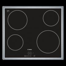 BOSCH Ugradna ploča PKE645B17E  Crna, Staklokeramička, Senzorsko upravljanje (Na dodir)