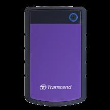 "TRANSCEND 2TB 2.5"", USB 3.0, StoreJet 25H3, (Crna/ljubičasta) - TS2TSJ25H3P  2TB, Ljubičasta, 2.5"", USB 3.0"