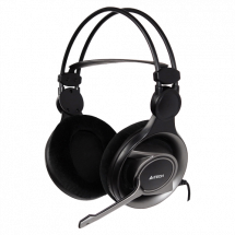 A4 TECH gejmerske slušalice HS-100  Stereo, 50mm, 20Hz - 20kHz, 111dB