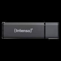 INTENSO Alu Line 32GB USB 2.0 (Crni) - 3521481  USB 2.0, 32GB, do 28 MB/s, do 6,5 MB/s