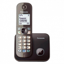 PANASONIC DECT KX-TG6811FXM  Bežični telefon, Siva