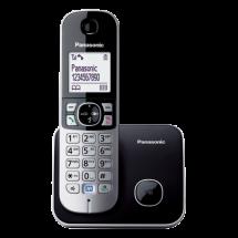 PANASONIC DECT KX-TG6811FXB  Bežični telefon, Crna