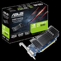 ASUS nVidia GeForce GT 1030 2GB GDDR5 64bit - GT1030-SL-2G-BRK  Nvidia GeForce GT 1030, 2GB, GDDR5, 64bit