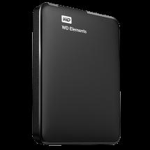 "WD 1TB 2.5"", USB 3.0, Elements - WDBUZG0010BBK-WESN  1TB, Crna, 2.5"", USB 3.0"