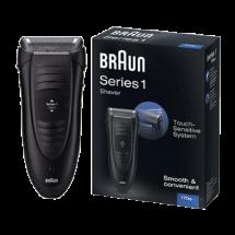 BRAUN Električni brijač 170S  Crna