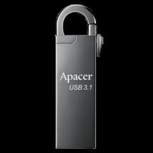 APACER 32GB USB 3.1 AH15A (Sivi)  USB 3.1, 32GB, Siva