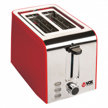 VOX Toster TO 1703  Crvena, 7, 750 W