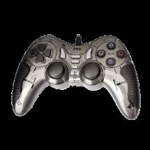 MS INDUSTRIAL gamepad CONSOLE 2 3IN1 (Sivi)  USB, Windows, PlayStation
