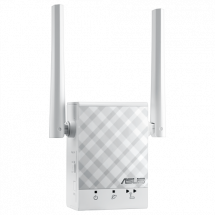 ASUS Repeater RP-AC51  Wireless, 802.11 a/ac, do 433Mbps, Dual Band (2.4 GHz & 5 GHz)