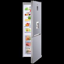 VOX Kombinovani frižider NF 3735IX  No Frost, 186 cm