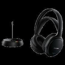 PHILIPS bežične Hi-Fi slušalice SHC5200/10  Standardne, 10Hz - 20kHz, RF prijemnik (sa 3.5mm konektorom), Crna