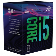 INTEL Core i5-8400 2.8GHz (4.0GHz)  Intel® 1151 (8. i 9. gen.), Intel® Core™ i5, 6