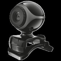 TRUST web kamera EXIS (Crna/siva) - 17003  0.3 Mpix, 640 x 480, USB 2.0